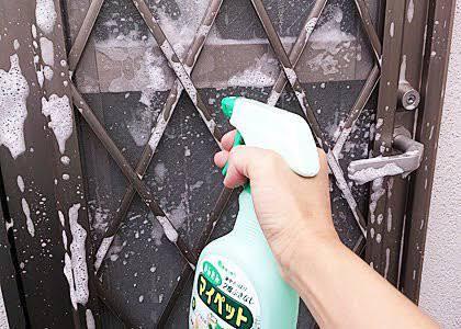 窓のお掃除をして防犯対策。俺の合鍵