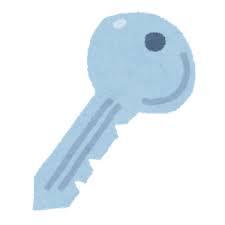 カギ、合鍵、空き巣、泥棒。ストーカー被害、俺の合鍵