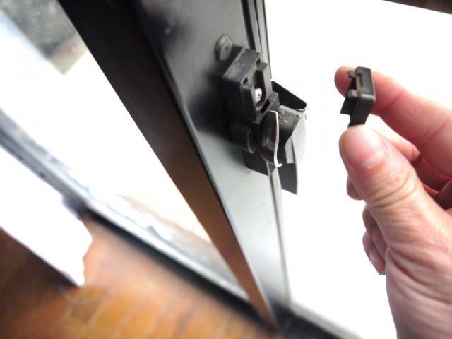 家の窓クレセントの鍵はドライバー1本で直す。俺の合鍵。