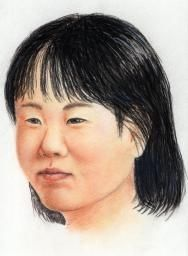 24歳になったゆかりちゃんの似顔絵、平成8年7月7日に誘拐された事件が早く解決できますように。俺の合鍵