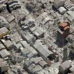 イタリアアマトリーチェ地震。