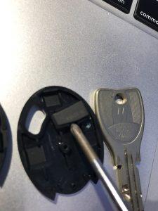 ICチップを外す・チェッキー・CHECKEY・マンションエントランス・カギ番号を隠す・新カギ・俺の合鍵