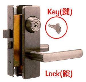 錠と鍵(合鍵)、鍵穴の写真です・鍵・錠前・錠・合鍵・俺の合鍵・新鍵・鍵番号は隠そう