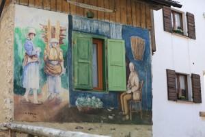 壁画・チビアーナ・イタリア・カギのルーツ・俺の合鍵・カギ番号・鍛冶屋・壁画・新カギ