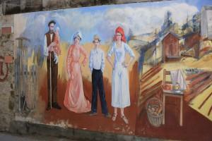 壁画・村・チビアーナ・イタリア・カギのルーツ・俺の合鍵・カギ番号・鍛冶屋・壁画・新カギ