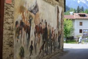 北イタリア・チビアーナ・イタリア・カギのルーツ・俺の合鍵・カギ番号・鍛冶屋・壁画・新カギ
