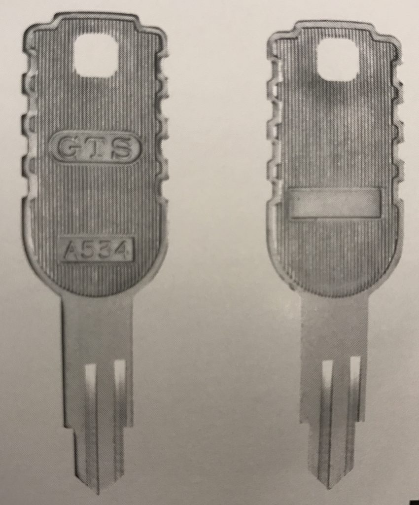 GTSの合鍵は店舗で合鍵を作ったものです。合鍵・GTS・gts・合い鍵・あいかぎ・アイカギ・俺の合鍵・スペアキー・カギ番号