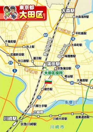 東京都大田区は羽田空港、国際羽田空港があります。合鍵制作・合鍵作成・スペアキー作成は金額・値段・価格が安い俺の合鍵へ。