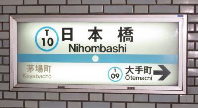東京地下鉄日本橋駅・東京メトロ日本橋駅合鍵制作・合鍵制作・ディンプルキー作成・スペアキー作成・純正キー作成するには必ず鍵本体をご持参ください。