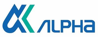 Alphaのロゴ